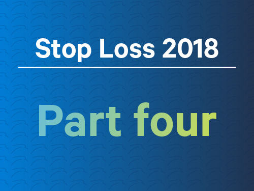 Stop loss in 2018: Part 4